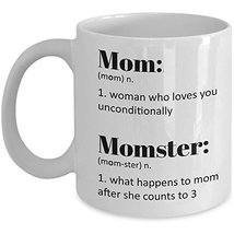 Funny Mom Tea Coffee Mug Mommy Definition Ceramic White Cup - Gifts for ... - $14.95+