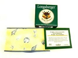 Longaberger  Handle Tie large Gripper Shoreline NIP and Christmas Tie or... - $12.09