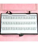 120 pc individual Premium Falses eyelashes w carry case - $8.99