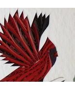 Tiny Quilled Cardinal - $50.00