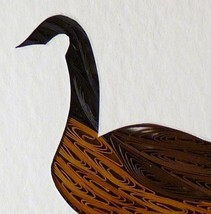 Tiny Quilled Canada Goose - $55.00