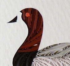 Tiny Quilled Canvasback Duck - $55.00