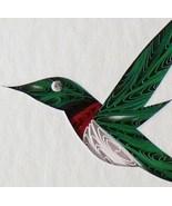 Tiny Quilled Hummingbird  - $55.00