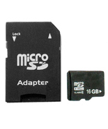 16GB Micro SD Memory Card TF with SD card Adapter - $8.99