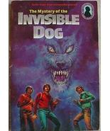 Three Investigators MYSTERY INVISIBLE DOG pb QUIZ page no bookmark - $4.99