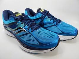 Saucony Guide 10 Size US 9 M (D) EU 42.5 Men's  Running Shoes Navy Blue S20350-5