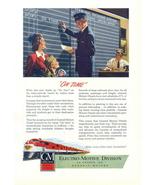 1948 GM Diesel Locomotives Railroad system print ad - $10.00