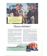 1948 GM Diesel Power Train Locomotives print ad - $10.00