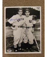 PHIL RIZZUTO & JOHNNY PESKY YANKEES RED SOX SHORTSTOPS AUTO SIGNED 8X10 ... - $149.99
