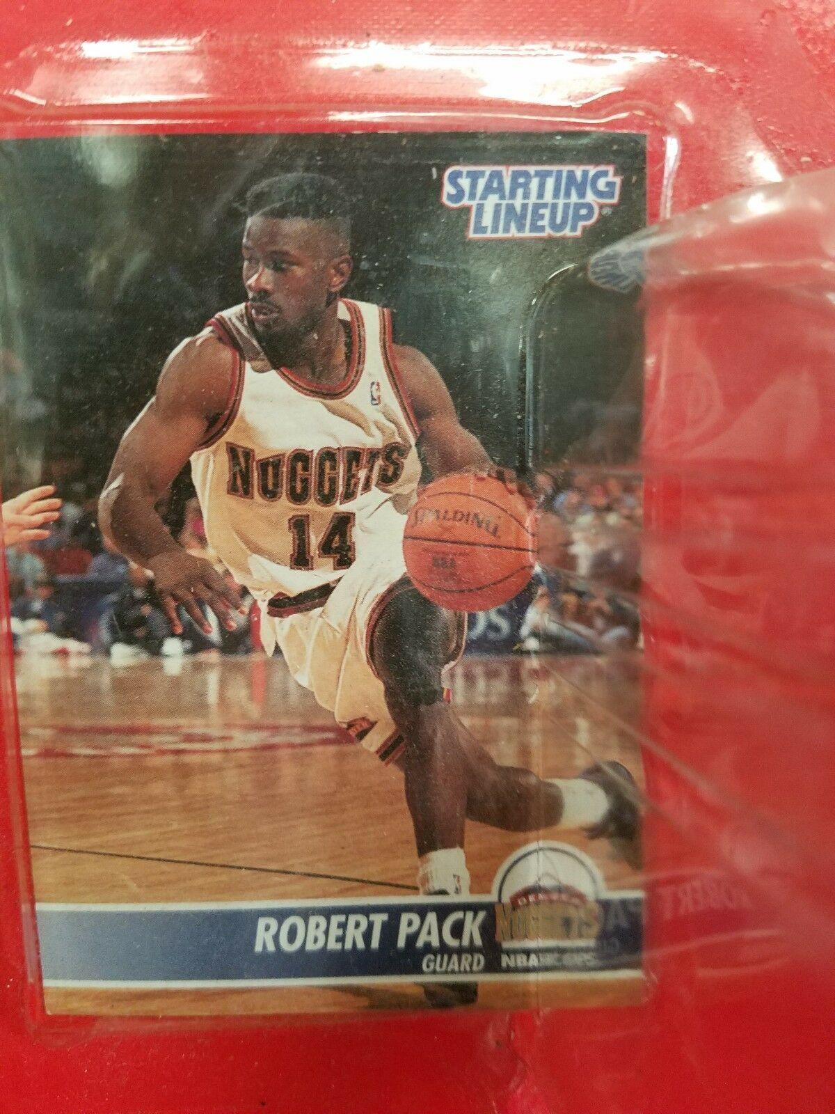 1995 ROOKIE STARTING LINEUP - SLU - NBA - ROBERT PACK - DENVER NUGGETS