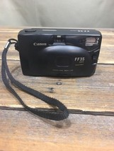 VINTAGE Canon FF 35 Date MACRO Film Point & Shoot Camera .5mm/1.7ft - $24.74