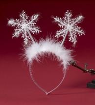 Forum Novità Babbo Natale Fiocco di Neve Fascia Natale Accessorio Costum... - £4.58 GBP