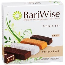 BariWise Protein Bar / Diet Bars - Variety Pack 7ct, High Protein, Trans Fat Fre