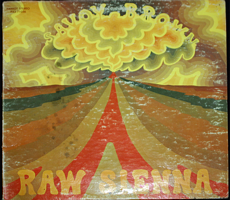 Savoy brown raw sienna cover