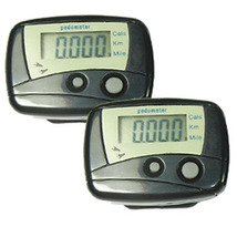 2X Pedometer Exercise Step Calorie Counter keep Fit NEW - $9.99