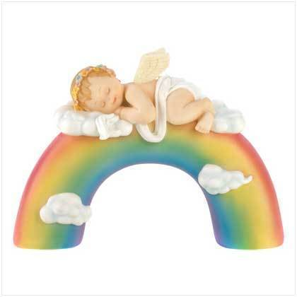 Cloudworks Sweet Dreams Angel Rainbow Figurine - Angels