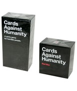 Cards Against Humanity Game Starter Set & Red Box Expansion Bundle New /... - $42.75