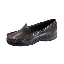 PEERAGE Maude Wide Width Moccasin Design Comfort Leather Loafers - $39.95