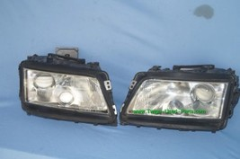 97-99 Audi A8 Quattro HID Xenon Headlight Head Lights Set LH&RH