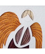 Quilled Guardian Angel - $75.00