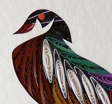 Tiny Quilled Wood Duck - $175.00
