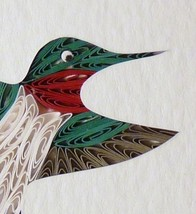 Tiny Quilled Hummingbird in Flight - $55.00