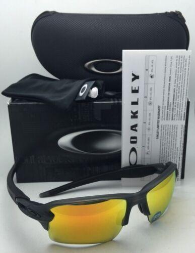 Polarisierend Oakley Sonnenbrillen Flak 2.0 XL OO9188-10 Grau Rauch Rahmen +