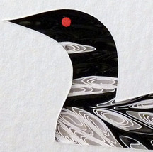 Tiny Quilled Loon - $55.00