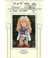 Tabatha Pattern Wood and Cloth Doll No. 102 Sharin' a Little Bit - $9.97