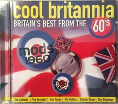 Cool Britannia Britain's Best From The 60's Compilation CD Album - $6.99