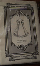 """Pattern BHD 324, Antique Doll Dress 17-18"""" doll clothes - $9.99"""