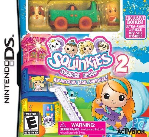 Squinkies 2: Adventure Mall Suprize! - Nintendo DS [No Operating System]