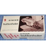 Singer Buttonholer - $21.85