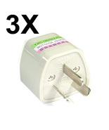 3x Universal Travel Power Plug Adapter Australia NZ AU - $9.99