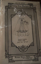 """Pattern BHD 723, French Doll Dress 21-22"""" doll clothes - $8.99"""