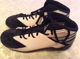 Adidas Performance Freak football cleats Size 10.5 shoes white black mens - $38.99