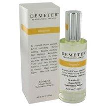 Demeter by Demeter Gingerale Cologne Spray 4 oz - $31.36