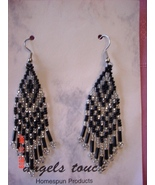 Angel's Touch Homespun Products Dangle Earrings New - $4.00