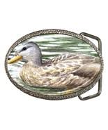 Belt Buckle from art painting Bird 56 Duck - $19.99
