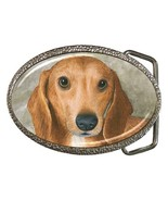 Belt Buckle from art painting Dog 88 Dachshund - $19.99