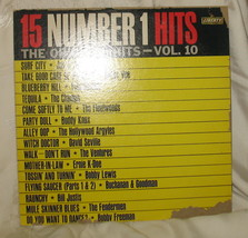 15 Number 1 Hits The Original Hits Vol 10 LP LRP 3344 - $13.99
