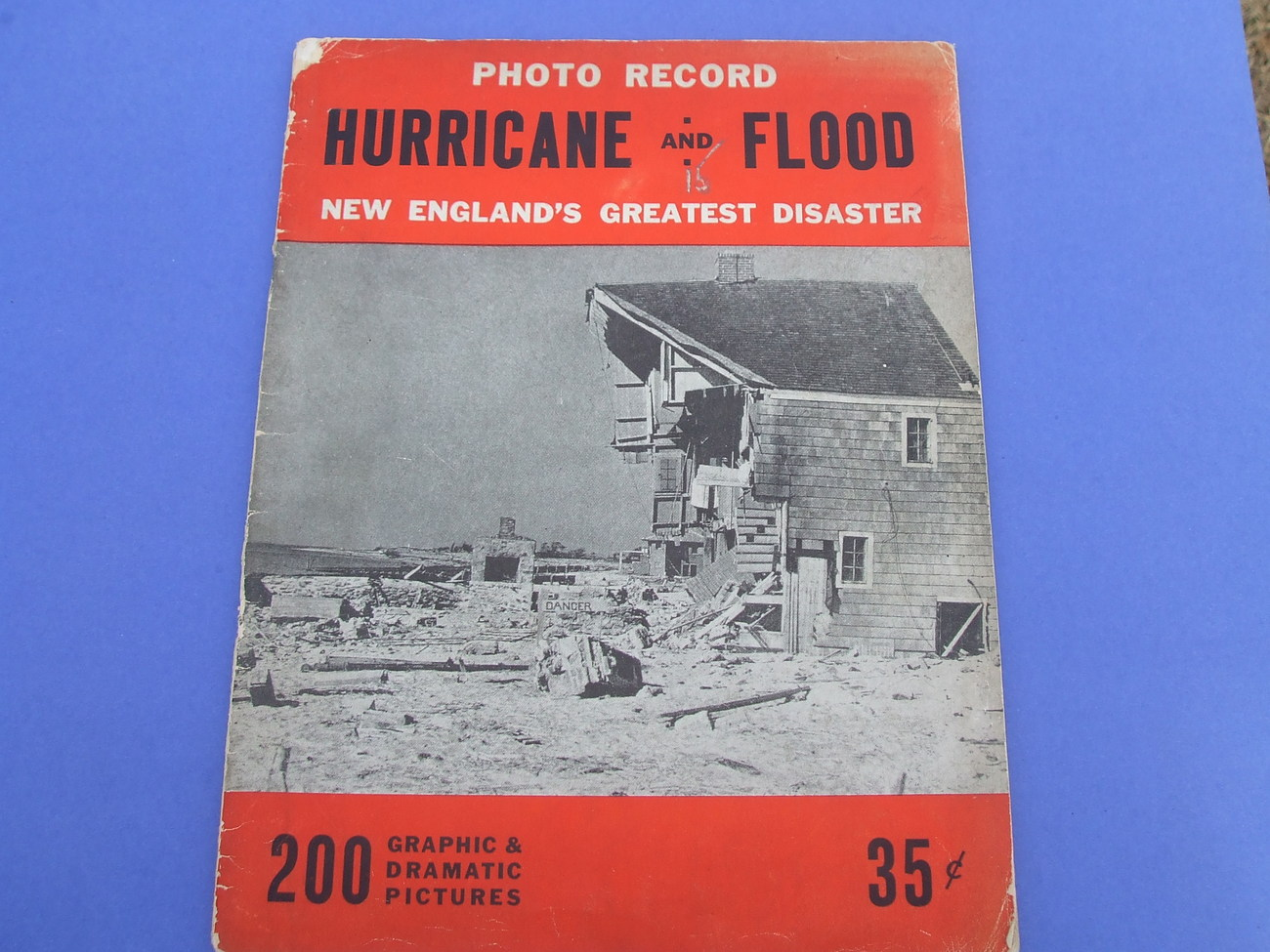 Historical 1938 Hurricane Magazine