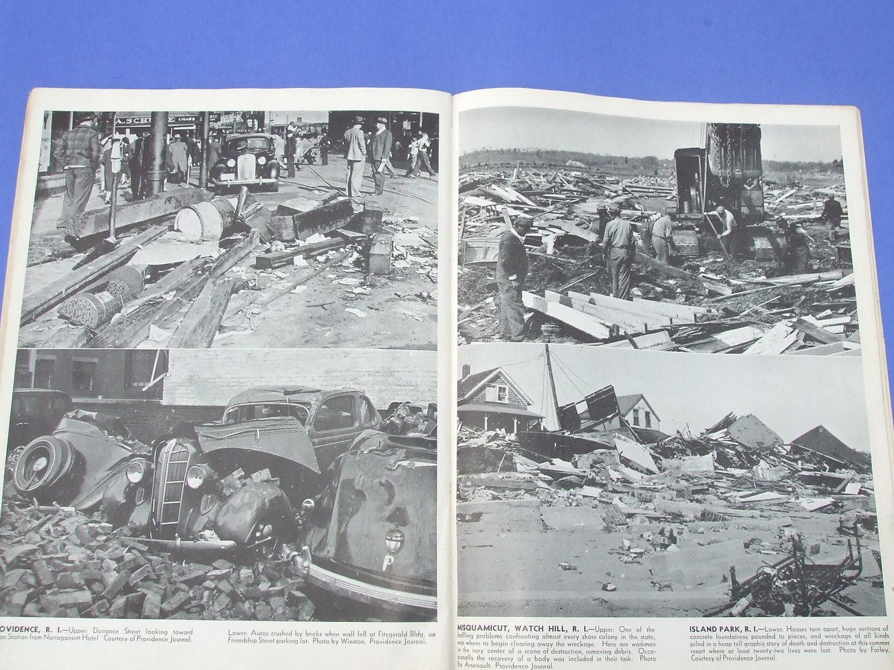 Historical 1938 Hurricane Magazine