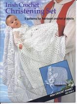Irish Crochet Christening Set Crochet Pattern~9 Heirloom Crochet Projects - $39.99