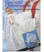 Irish Crochet Christening Set Crochet Pattern~9... - £30.92 GBP