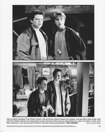 Elden Henson Devon Sawa Seth Green Idle Hands 8x10 Photo