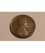 1911 - P Copper Lincoln Wheat Cent (Fine) - $33,54 MXN