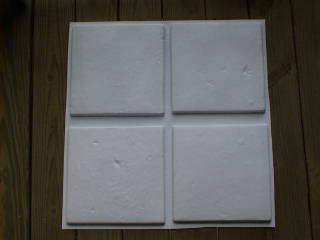 "6+1 FREE MOLDS CRAFT 100s of 12""x12"" MEXICAN SALTILLO FLOOR TILES FOR $0.30 EACH"