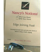 Nancys Notions Edge Joining Foot - $12.95