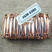 High popular romantic girl wholesale gift, rose stretch bracelet! Free s... - $14.38